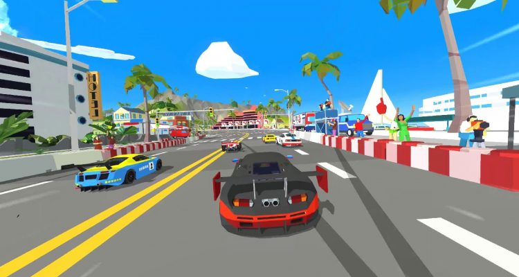 Hotshot Racing выходит в релиз