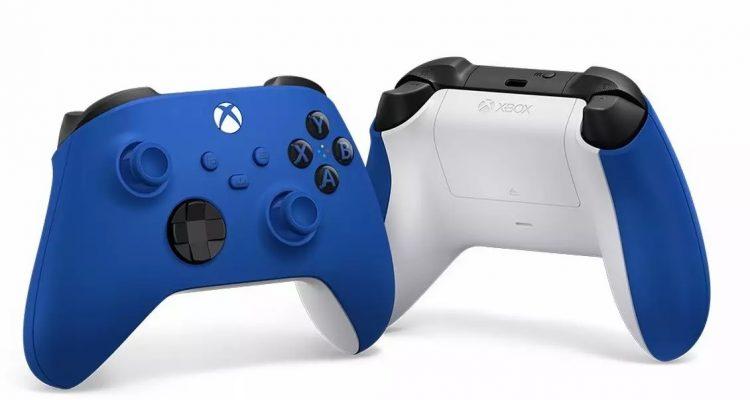 Microsoft анонсировала синий геймпад для Xbox