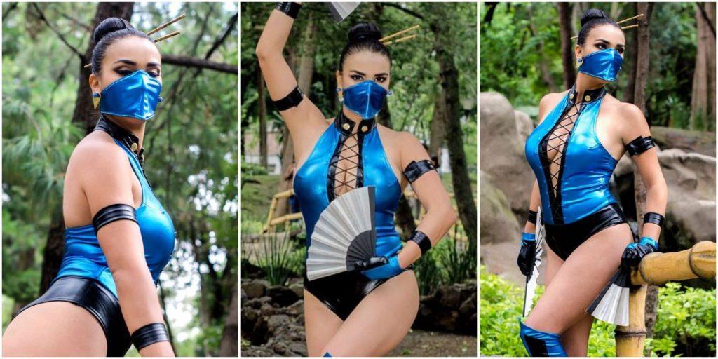 Лучший косплей Китаны из Mortal Kombat