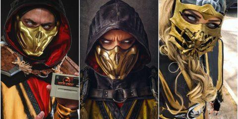 Лучший косплей Скорпиона из Mortal Kombat