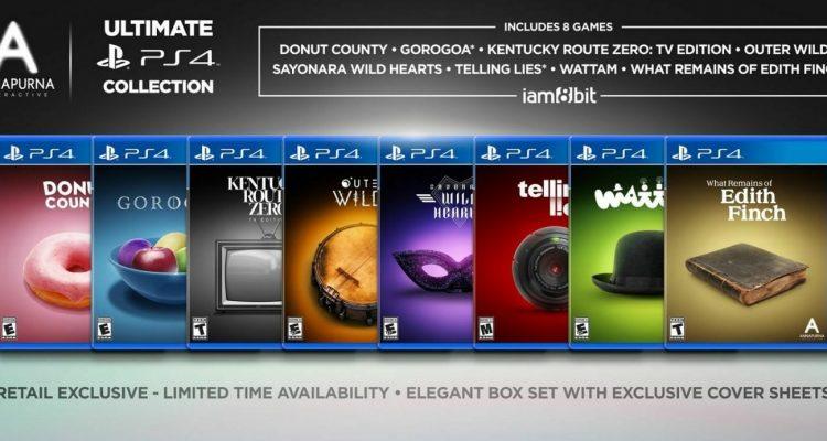 """На PS4 выйдет коллекционное издание """"8 в одном"""""""