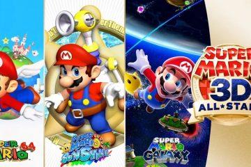 Nintendo анонсировала целый ряд игр про Марио