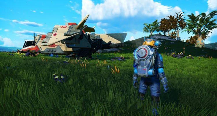 No Man's Sky наконец получил монстров из первого трейлера игры