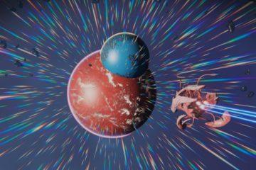 Слияние двух планет - удивительная находка в No Man's Sky