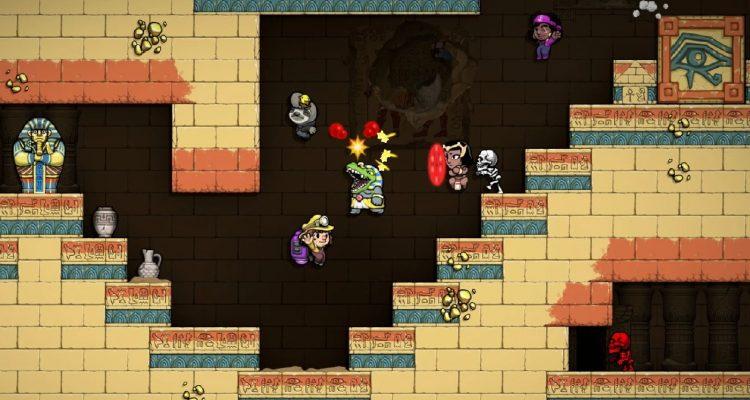 Spelunky 2 выходит на PlayStation 4