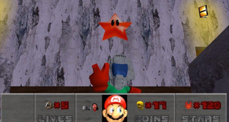 Благодаря моду, Mario 64 превратился в Doom