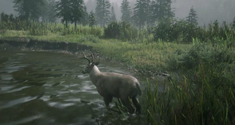 В Red Dead Online теперь можно превратиться в оленя