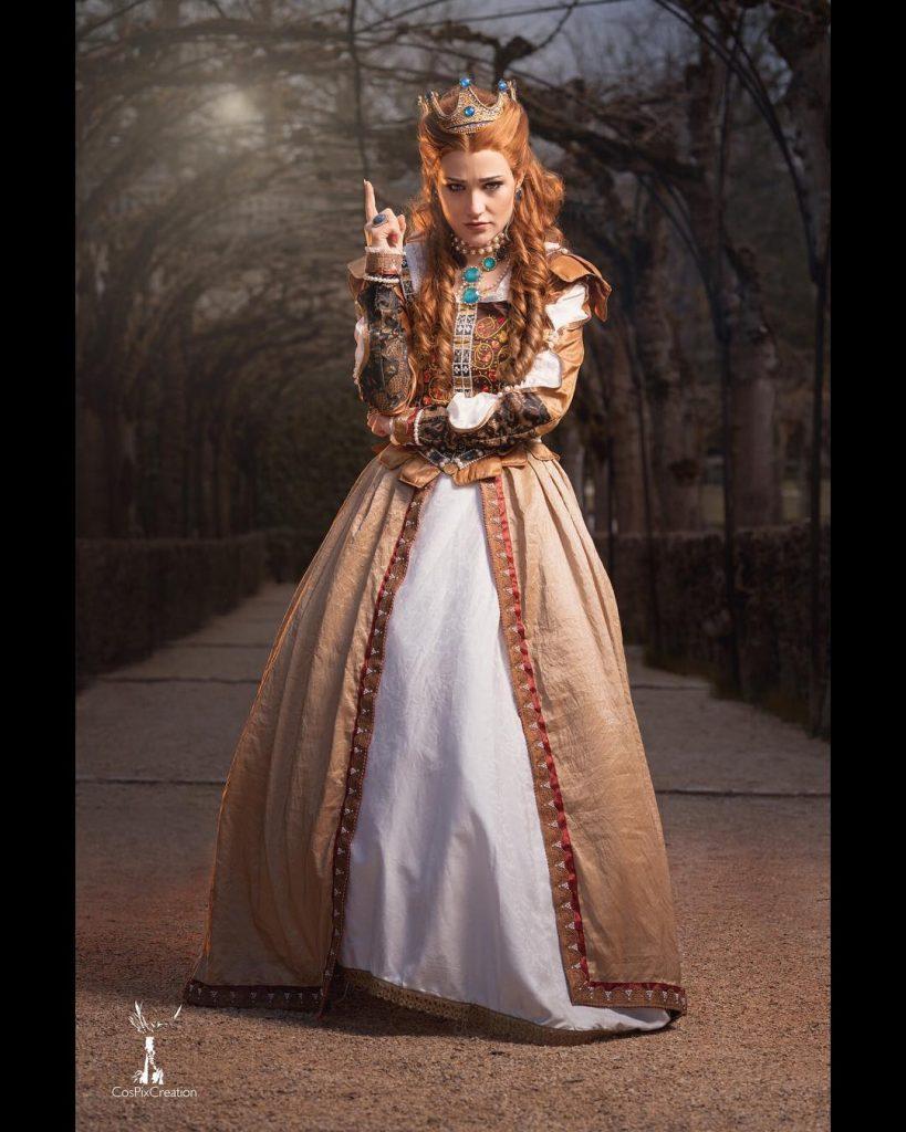 Лучший косплей Анны Генриетты из Ведьмака 3