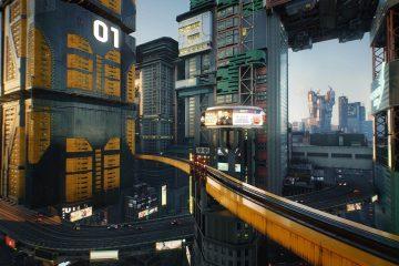 Запущен сайт, посвящённый Night City из Cyberpunk 2077