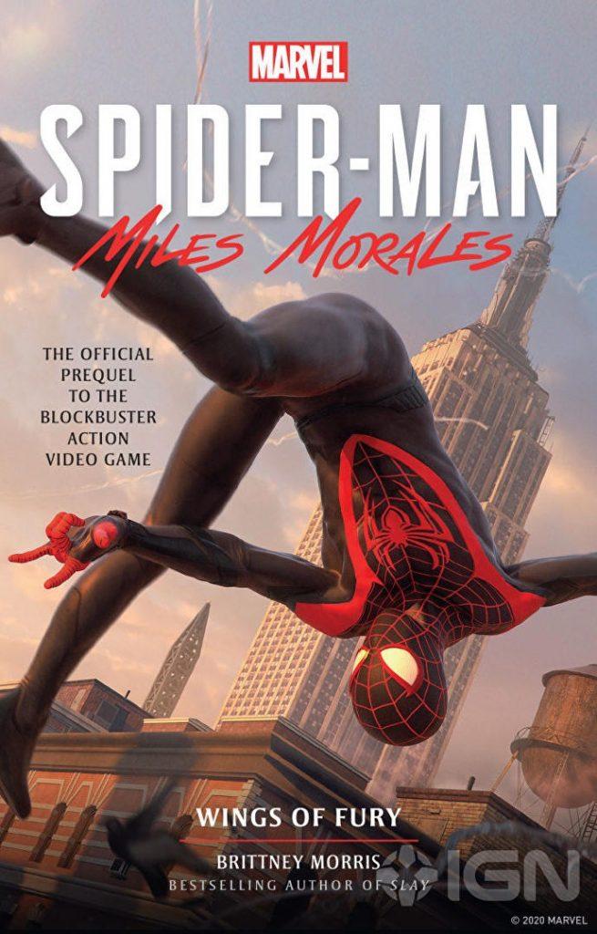 Анонсирована книга, раскрывающая предысторию игры Spider-Man: Miles Morales