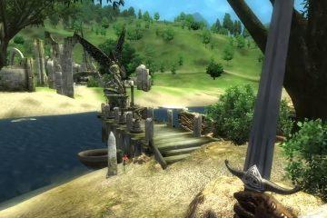 Выход в открытый мир в Oblivion