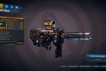 Коллекция оружия Borderlands 3