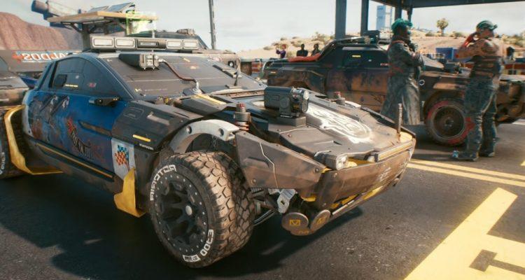В новом геймплее Cyberpunk 2077 были представлены автомобили и мотоциклы