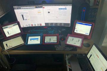 13 часов обновлений страниц на 9-ти устройствах, чтобы приобрести PS5
