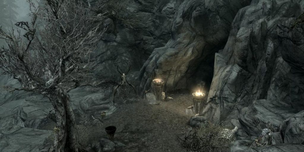 10 лучших пещер в Skyrim