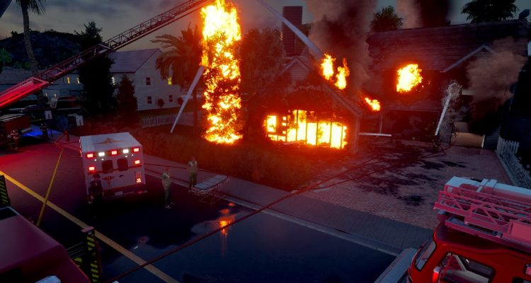 Firefighting Simulator: The Squad выходит в релиз