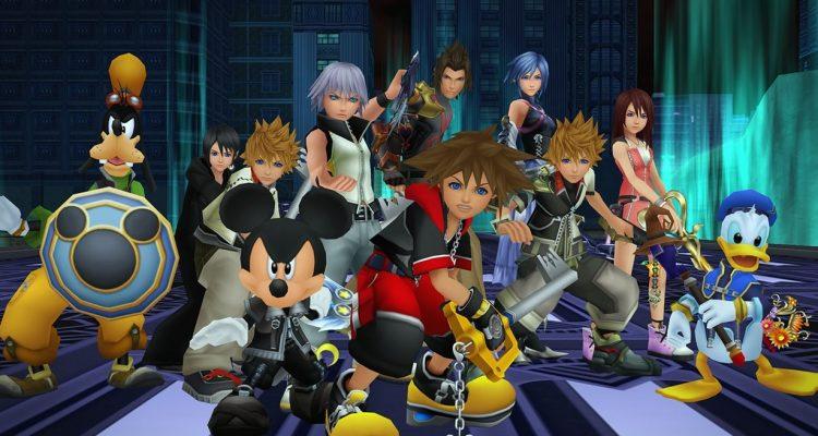 Kingdom Hearts: Melody of Memory выходит на консолях