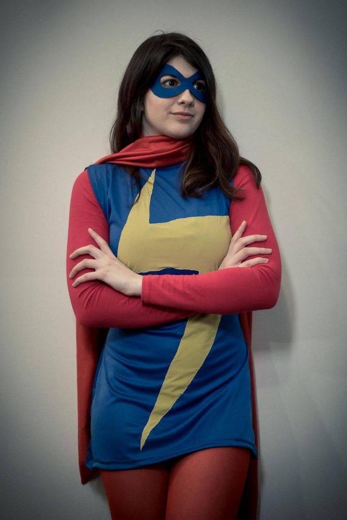 Лучший косплей Мисс Марвел из Мстителей