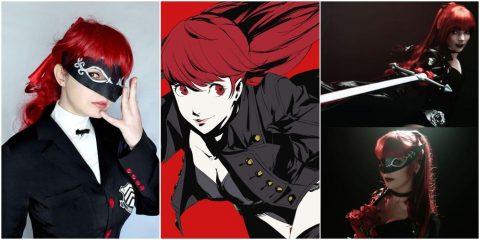 Лучший косплей Касуми из Persona 5 Royal