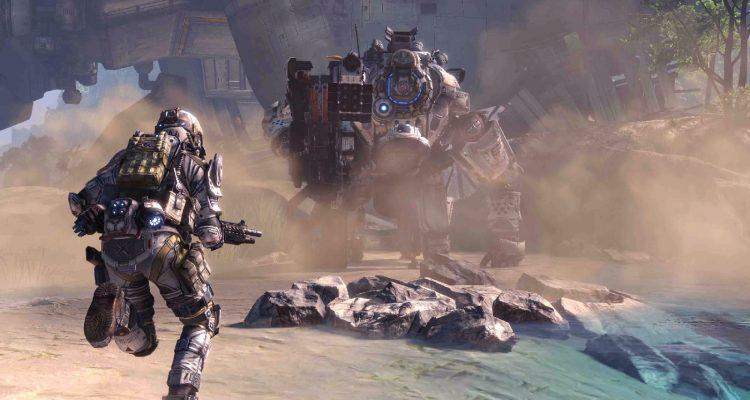 Первый Titanfall появился в Steam