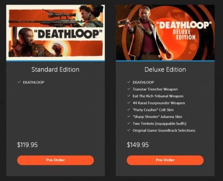 PlayStation сообщила точную дату выхода Deathloop