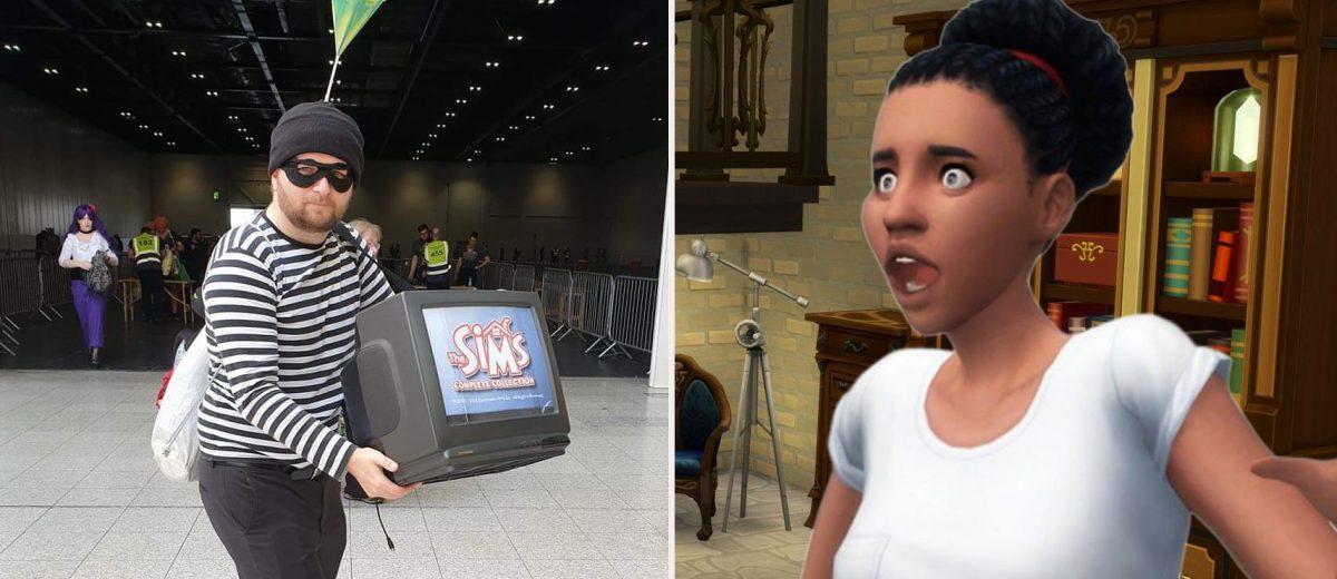 Лучший косплей персонажей из серии The Sims