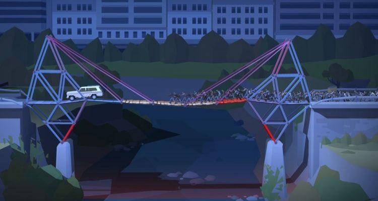 Состоялся релиз Bridge Constructor: The Walking Dead
