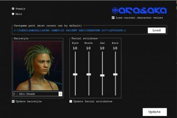 Спасибо моду, мы наконец-то сможем редактировать внешность персонажа в Cyberpunk 2077