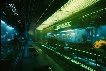 Cyberpunk 2077 запускается на Switch благодаря Google Stadia