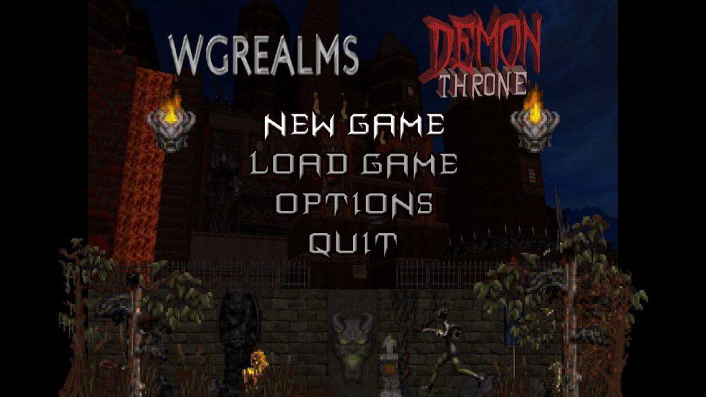 WGRealms Demon Throne – глобальный фэнтези-мод для Duke Nukem 3D