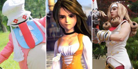 Лучший косплей на персонажей Final Fantasy IX