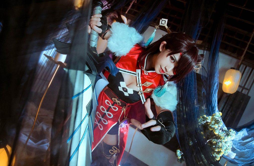Лучший косплей на персонажей Genshin Impact