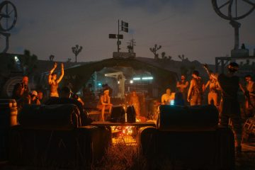 Команда CDPR проведёт вечеринку перед релизом Cyberpunk 2077