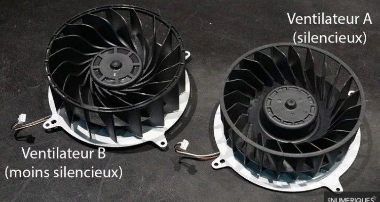 Консоли PlayStation 5 оснащаются разными моделями вентиляторов