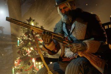Новогодние ивенты в GTA и Red Dead Online - снег, декорации и многое другое