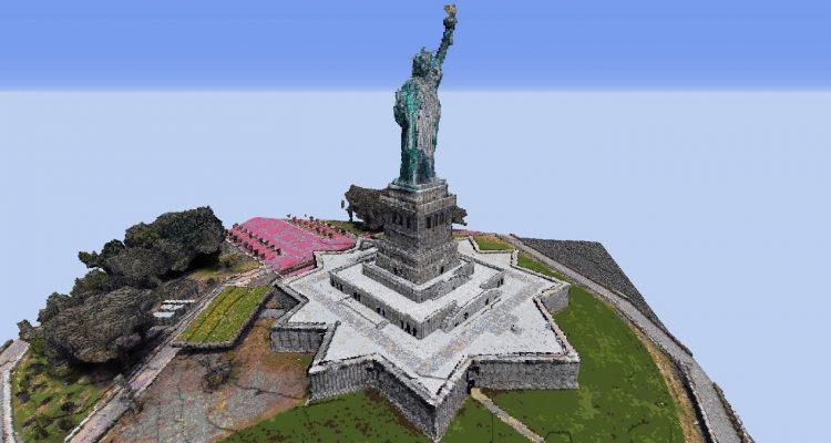 Поклонник Minecraft нашёл лёгкий способ создавать локации на основе реальных прототипов