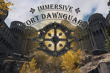 Мод для Skyrim переделает форт Dawnguard