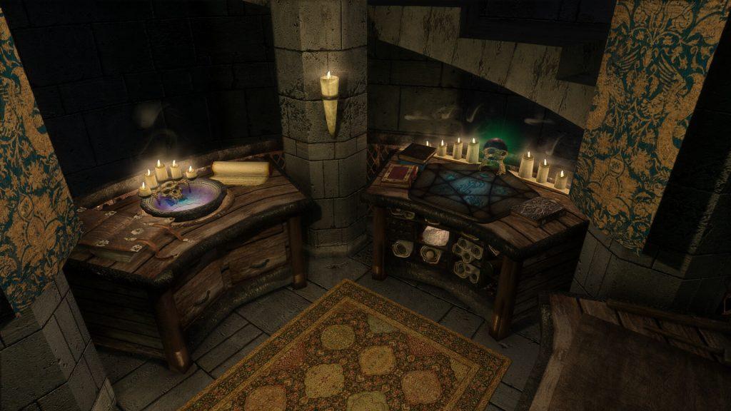 Мод для Skyrim переделает форт Dawnguard и даже добавит к нему новые области