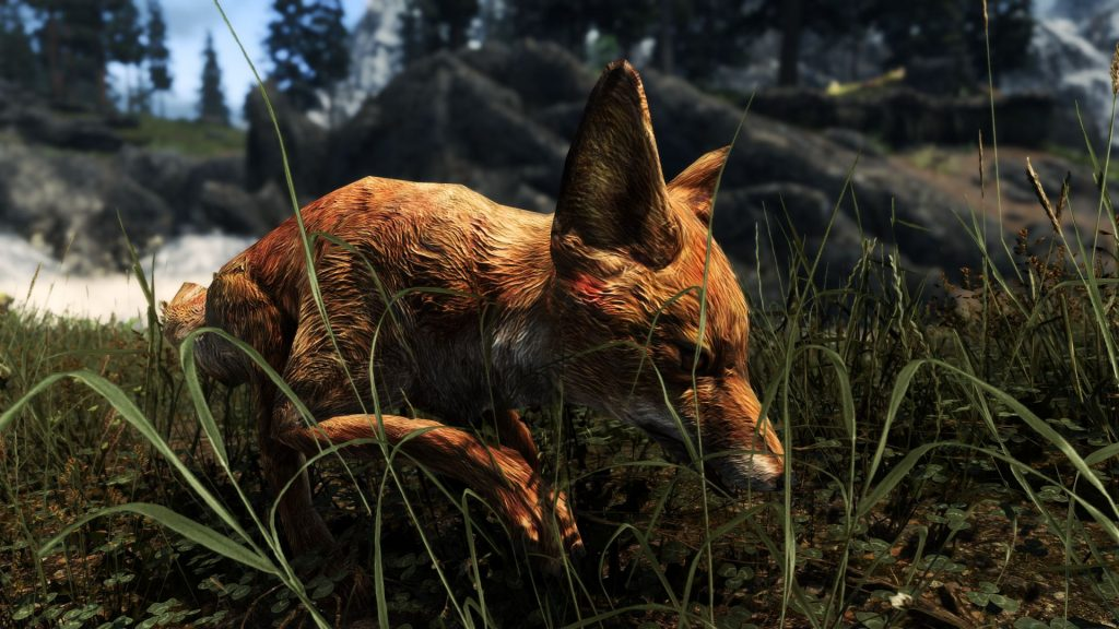 Этот 4.6Гб HD текстур-пак для Skyrim заменяет всех существ