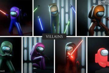 Астронавты из Among Us или ребята из Fall Guys, в новом моде для Star Wars Battlefront 2