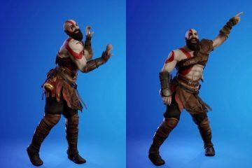Так выглядит танцующий Кратос - споры вокруг нового персонажа Fortnite