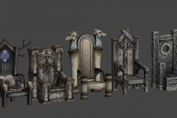 Мод Thrones of Skyrim добавляет красивые троны для Ярлов