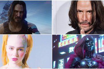 Как на самом деле выглядят персонажи Cyberpunk 2077