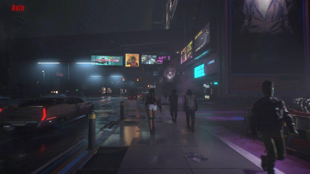 Мод Cyberpunk 2077 подпортит погоду в Найт-Сити как следует