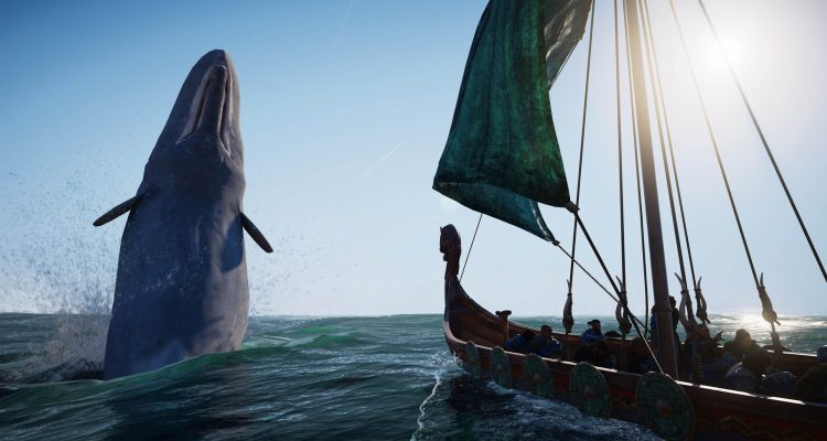 Обновление Assassin's Creed Вальгалла спускает на землю корабли и останавливает в воздухе китов