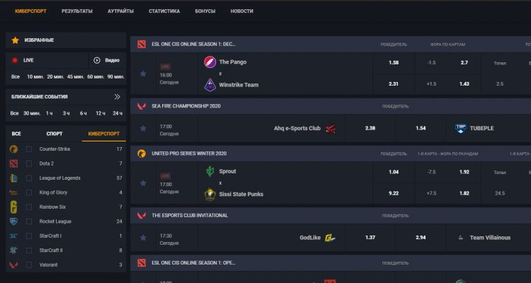 Первые киберспортивные турниры года, на которые можно сделать ставки
