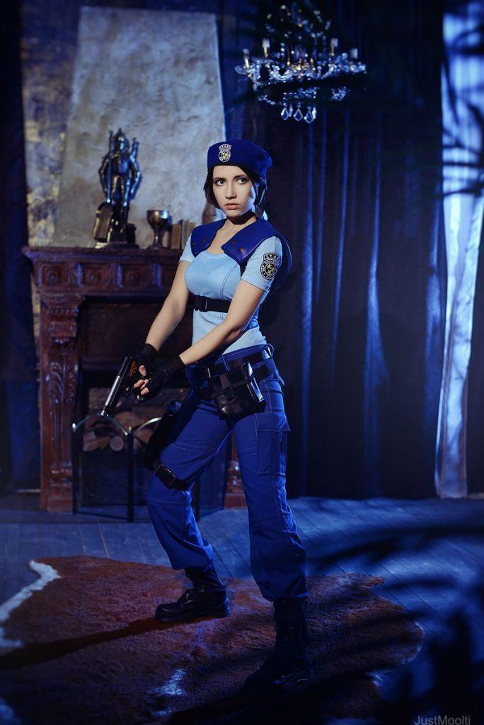 Лучший косплей Джилл Валентайн из Resident Evil