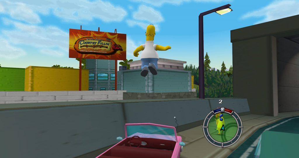 Спустя 18 лет после релиза игры, мод соединил весь мир Simpsons Hit & Run воедино