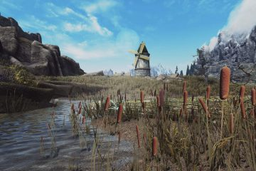 Мод для Skyrim Special Edition меняет текстуры ландшафта во всех регионах