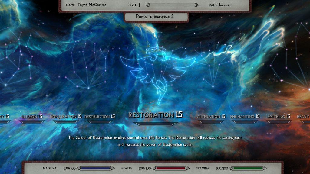 Мод для Skyrim обновляет все текстуры эффектов